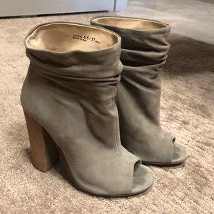 Kristin Cavallari Chinese Laundry grey booties